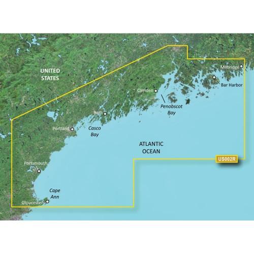 Garmin BlueChart g3 Vision HD - VUS002R - South Maine - microSD-SD