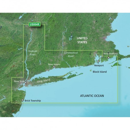 Garmin BlueChart g3 Vision HD - VUS004R - New York - microSD-SD