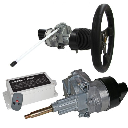 Intellisteer Type T f-Helms w-Tilt Function f-Cable Steered Boats w-Dash Mounted Wheel