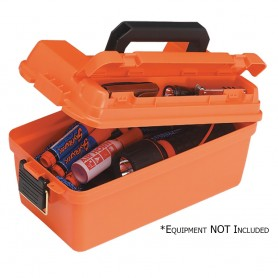 Plano Small Shallow Emergency Dry Storage Supply Box - Orange