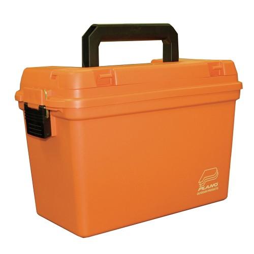 Plano Deep Emergency Dry Storage Supply Box w-Tray - Orange