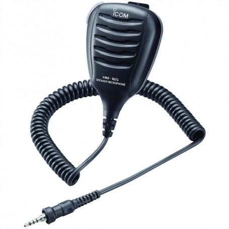 Icom HM-165 Speaker Mic w-Alligator Clip - Waterproof