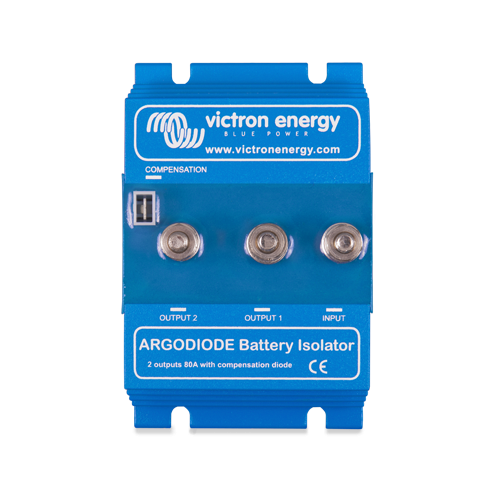Victron 2 Batteries 80 Amp Argo Diode Battery Isolator 80-2AC
