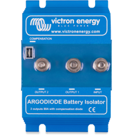 Victron 2 Batteries 120 Amp Argo Diode Battery Isolator
