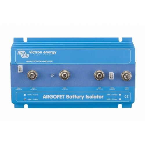 Victron 3 Batteries 140 Amp Argo Diode Battery Isolator 140-3AC