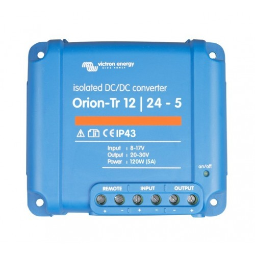 Victron 24V to 24V 120W 5 Amp Orion-Tr DC-DC Converter Isolated 24/24-5