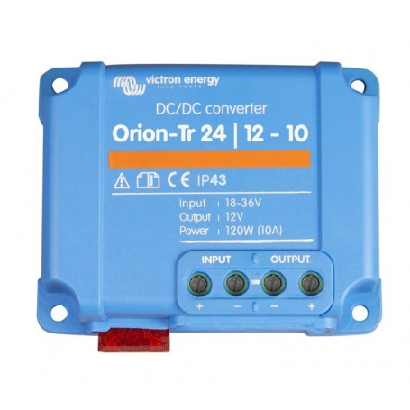 Victron 24V to 12V 10 Amp 120W Orion-Tr DC-DC Converter Non Isolated