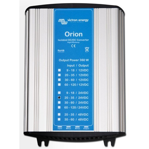 Victron Orion 12/24 15 Amp 360W DC-DC Converter Isolated