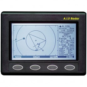 Clipper AIS Plotter-Radar - Requires GPS Input VHF Antenna