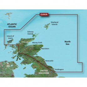 Garmin BlueChart g3 Vision HD - VEU003R - Great Britain- Northeast Coast - microSD-SD