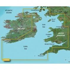 Garmin BlueChart g3 Vision HD - VEU004R - Irish Sea - microSD-SD