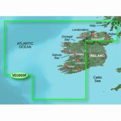 Garmin BlueChart g3 Vision HD - VEU005R - Ireland- West Coast - microSDSD