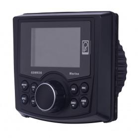 Poly-Planar GSMR30 AM-FM-BT Gauge Style Marine Radio