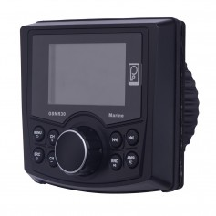 Poly-Planar GSMR30 MP4-MP3-Photo-Playback Gauge Style Marine Radio