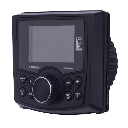 Poly-Planar MP4-MP3-Photo Playback Gauge Series Marine Radio