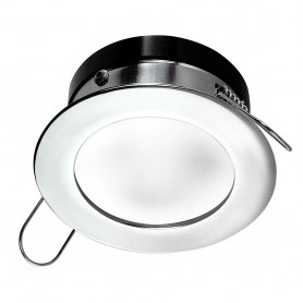 i2Systems Apeiron Pro A503 Recessed LED - Tri-Color - Cool White-Red-Blue - 3W Dimming - Round Bezel - Chrome Finish