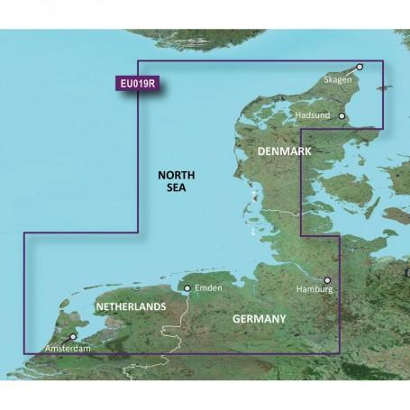 Garmin BlueChart g3 Vision HD - VEU019R - Alborg to Amsterdam - microSD-SD
