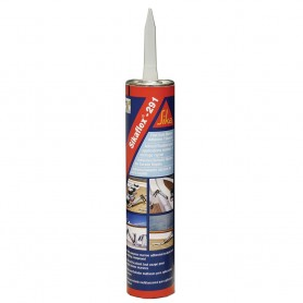 Sika Sikaflex 291 Fast Cure Adhesive Sealant 10-3oz-300ml- Cartridge - White