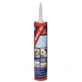 Sika Sikaflex 291 Fast Cure Adhesive Sealant 10-3oz-300ml- Cartridge - White