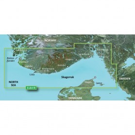 Garmin BlueChart g3 Vision HD - VEU041R - Oslo-Skagerak-Haugesund - microSD-SD