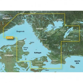 Garmin BlueChart g3 Vision HD - VEU042R - Oslo to Trelleborg - microSD-SD