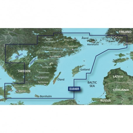 Garmin BlueChart g3 Vision HD - VEU046R - regrund- land to Malm - microSD-SD