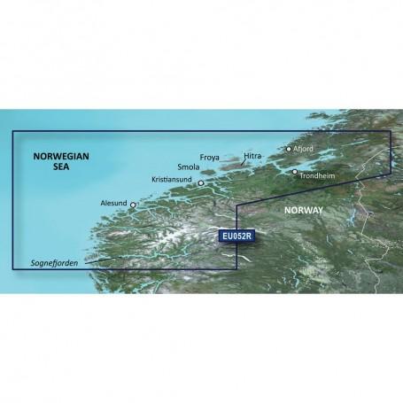 Garmin BlueChart g3 Vision HD - VEU052R - Sognefjorden - Svefjorden - microSD-SD