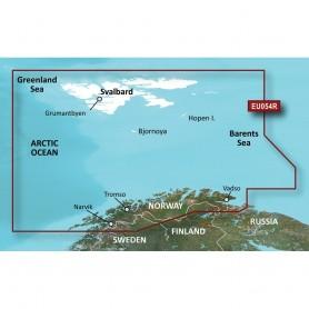 Garmin BlueChart g3 Vision HD - VEU054R - Vestfjd-Svalbard-Varanger - microSD-SD