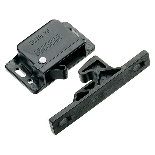 Southco Grabber Catch Latch - Side Mount - Black - Pull-Up Force 22N -5lbf-