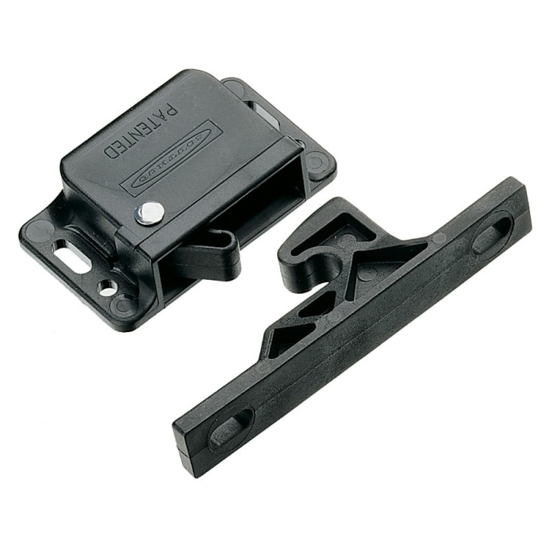 Southco Grabber Catch Latch - Side Mount - Black - Pull-Up Force 44N -10lbf-