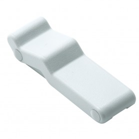 Southco Concealed Soft Draw Latch w-Keeper - White Rubber