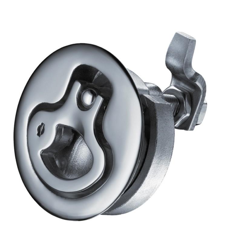 Southco Medium Lift Turn Latch - Stainless Steel - Locking - ShortCam Offset