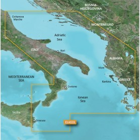 Garmin BlueChart g3 Vision HD - VEU453S - Adriatic Sea- South Coast - microSD-SD