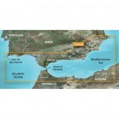 Garmin BlueChart g3 Vision HD - VEU455S - Alicante to Cabo de Sao Vicente - microSD-SD