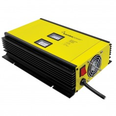 Samlex 80A Battery Charger - 12V - 2-Bank - 3-Stage w-Dip Switch Lugs - Includes Temp Sensor