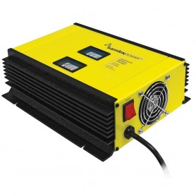 Samlex 25A Battery Charger - 24V - 2-Bank - 3-Stage w-Dip Switch Lugs - Includes Temp Sensor