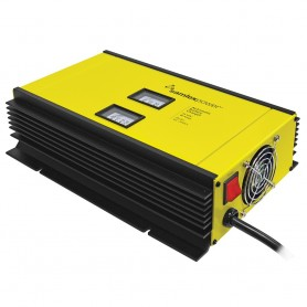 Samlex 40A Battery Charger - 24V - 2-Bank - 3-Stage w-Dip Switch Lugs - Includes Temp Sensor