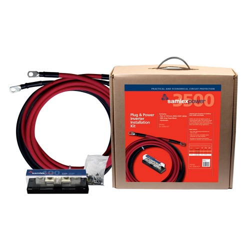Samlex 400A Inverter Installation Kit f-3500W Inverter