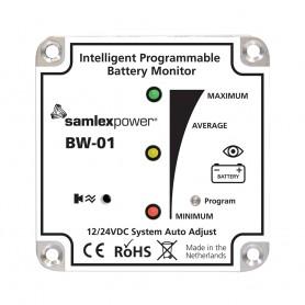 Samlex Battery Monitor - 12V or 24V - Programmable