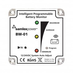 Samlex Battery Monitor - 12V or 24V - Programmable