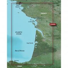 Garmin BlueChart g3 Vision HD - VEU465S - La Baule to San Sebastian - microSD-SD