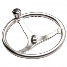 Edson Satin Finish ComfortGrip Powerwheel - 13- w-Knob Nut