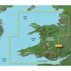 Garmin BlueChart g3 Vision HD - VEU467S - Blackpool to Cardiff - microSD-SD