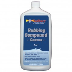 Sudbury Rubbing Compound Coarse - Step 1 - 32oz Fluid