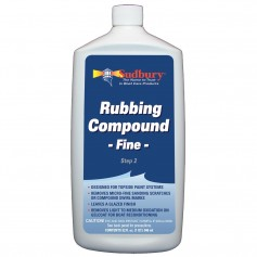 Sudbury Rubbing Compund Fine - Step 2 - 32oz Fluid