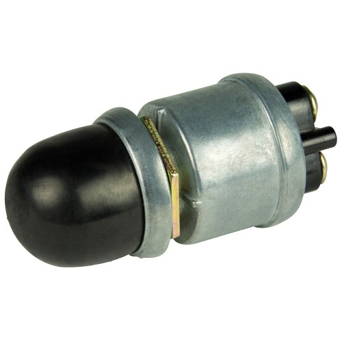 BEP 2-Position SPST Heavy-Duty Push Button Switch - OFF--ON- - 35 Amp
