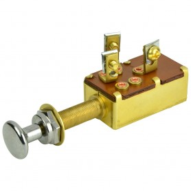BEP 3-Position SPDT Push-Pull Switch - Off-ON1-ON2
