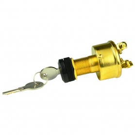 BEP 4-Position Brass Ignition Switch - Accessory-OFF-Ignition Accessory-Start