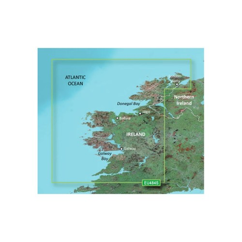 Garmin BlueChart g3 Vision HD - VEU484S - Ireland North-West - microSD-SD