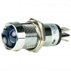 BEP LED Pilot Indicator Light - 12V - Blue